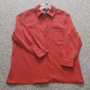 Charter Club Sued longsleeved Blouse